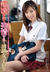 痴漢されて発情する…清純女子高生 前田かおり