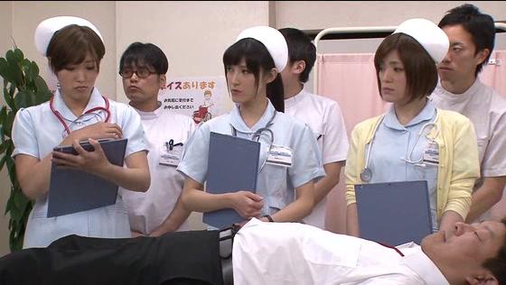 看護学校の実習で全裸にさ...